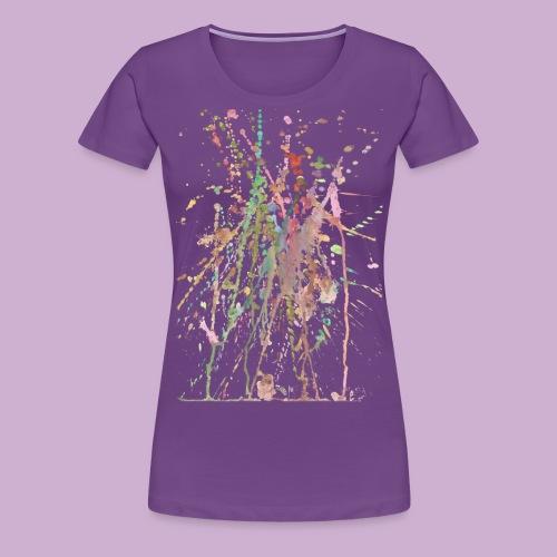AQUARELLSPRITZER - Frauen Premium T-Shirt