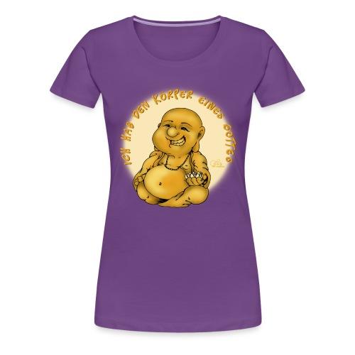 Buddha - Frauen Premium T-Shirt