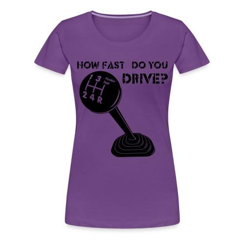 FuFa mit Text - Frauen Premium T-Shirt