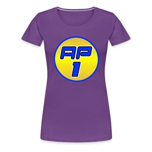 12804 2CAP1 Logo - Women's Premium T-Shirt