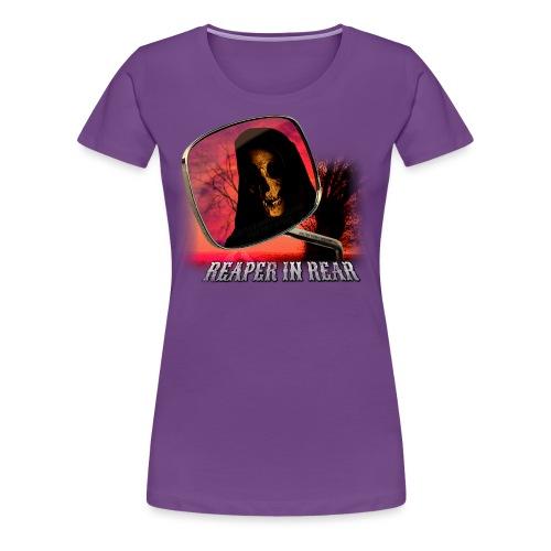 Reaper in Rear - Women's Premium T-Shirt