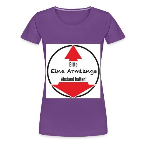 Eine Armlänge Kreis - Frauen Premium T-Shirt