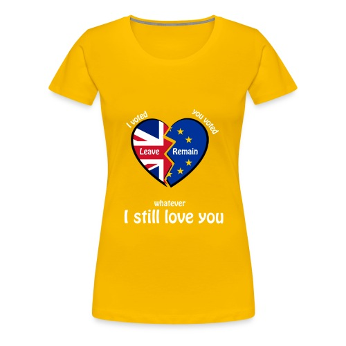 i-voted-leave - Women's Premium T-Shirt