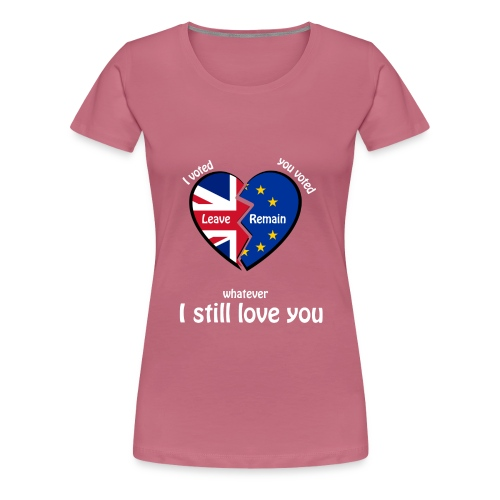 i-voted-leave - Women's Premium T-Shirt