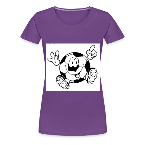 Ball - Frauen Premium T-Shirt