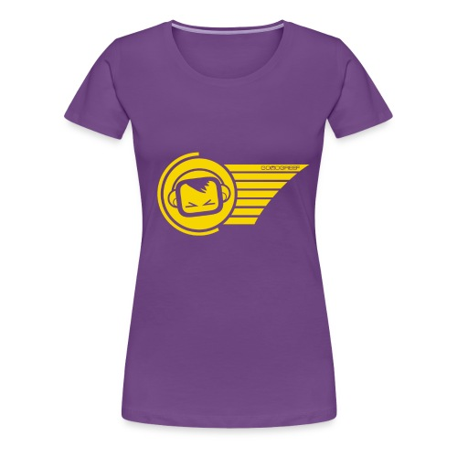 merch2 ggyellow - Women's Premium T-Shirt