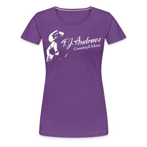 TJA big white png - Frauen Premium T-Shirt