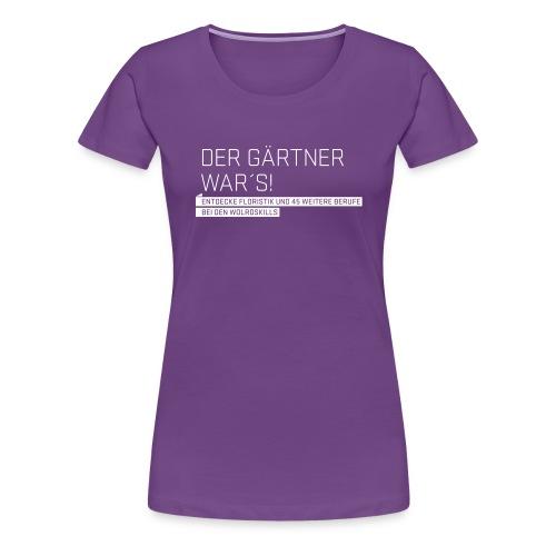 wsl typomotive wei 2 - Women's Premium T-Shirt