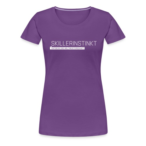wsl typomotive wei 1 - Women's Premium T-Shirt