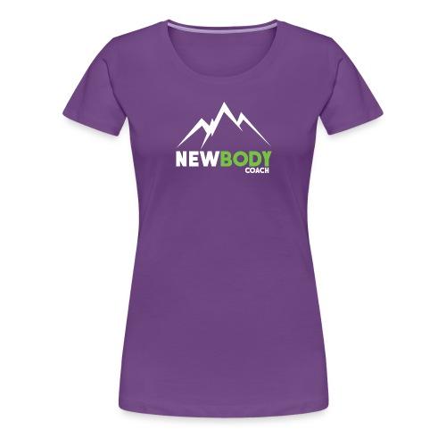 logo-white - Frauen Premium T-Shirt