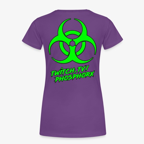 twitch phosphorx hinten - Frauen Premium T-Shirt