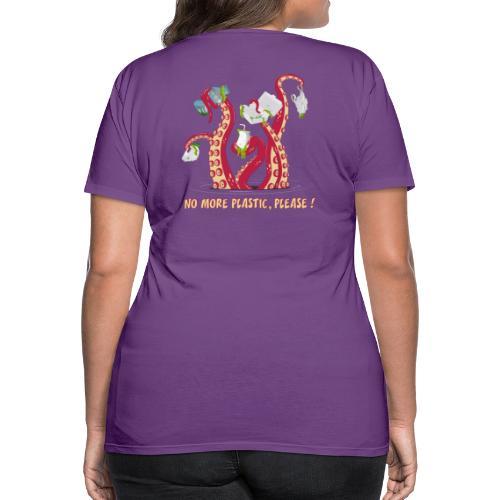 No more plastic ! - T-shirt Premium Femme