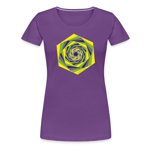 s33 polygon - Frauen Premium T-Shirt