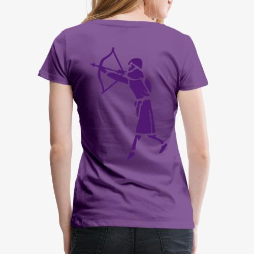 Archer Medieval Icon patjila design - Women's Premium T-Shirt
