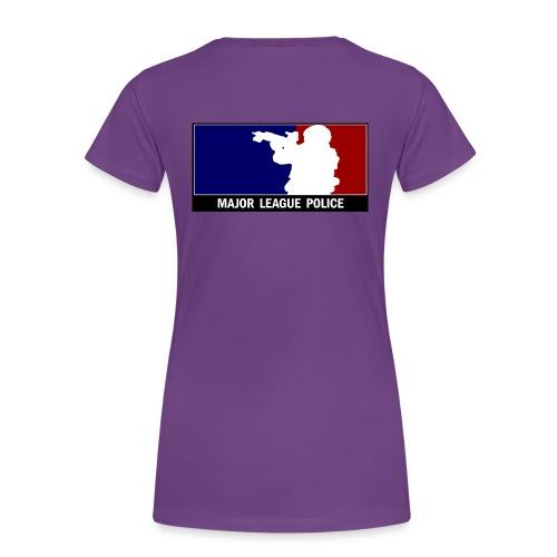 Major League Police - Frauen Premium T-Shirt