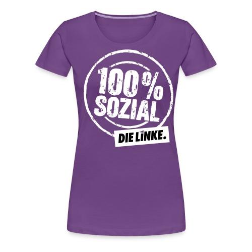 1 linkesx btw13 tshirts vorn weissschwar - Frauen Premium T-Shirt