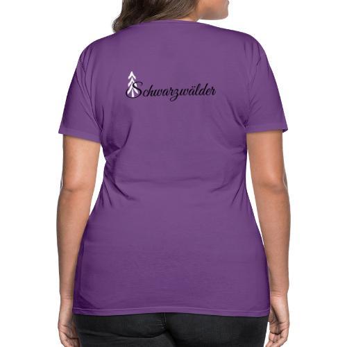 SchwarzwaeldermitTanne - Frauen Premium T-Shirt
