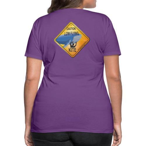 Roadsign Attention cerf-volant à basse altitude - T-shirt Premium Femme