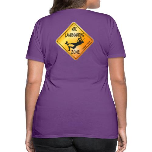 KITE LANDBOARDING ZONE OUEST CÔTE - T-shirt Premium Femme