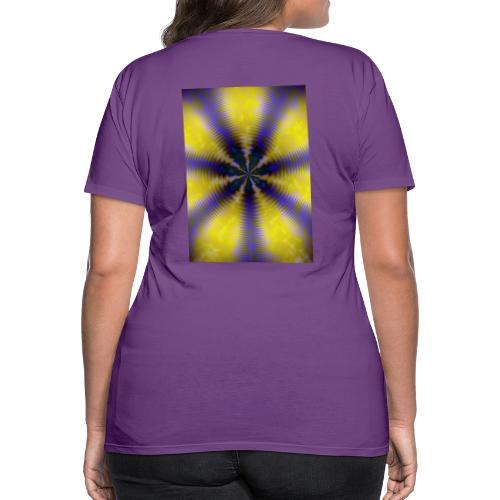 Roundon, Abstract Expressionism,Design 2018 - Frauen Premium T-Shirt