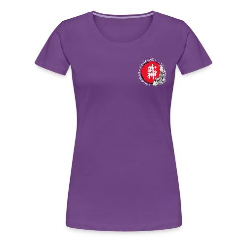 Logo2015 tshirt blanc png - T-shirt Premium Femme
