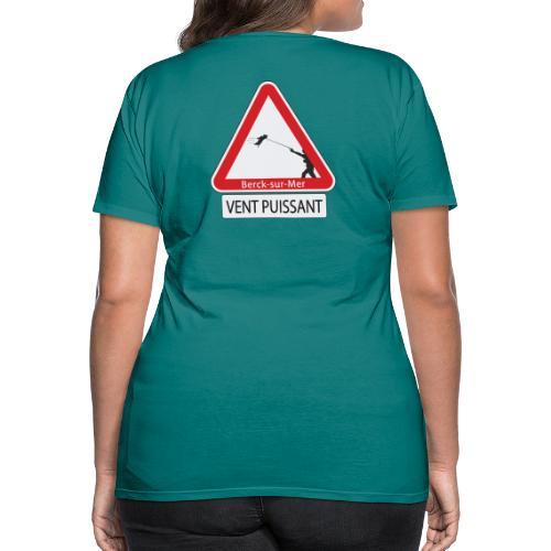 Berck-sur-mer: Vent puissant IV - T-shirt Premium Femme