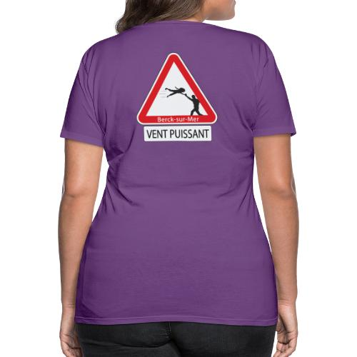 Berck-sur-mer: Vent puissant III - T-shirt Premium Femme