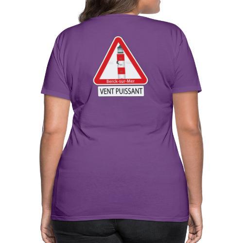 Berck sur mer :Vent puissant I - T-shirt Premium Femme