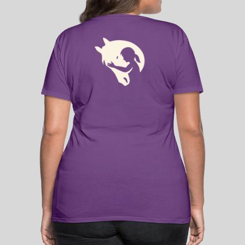Seelenpferd beige - Frauen Premium T-Shirt