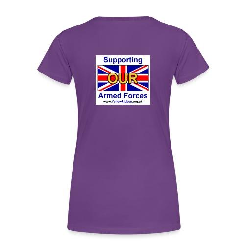 yrf shirt back - Women's Premium T-Shirt