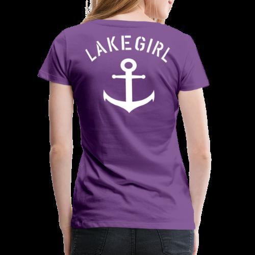 LakeGirl Anchor - Frauen Premium T-Shirt