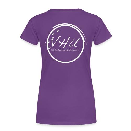 vhu2013vit kopia - Premium-T-shirt dam