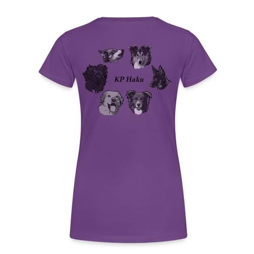 Tintti - Naisten premium t-paita