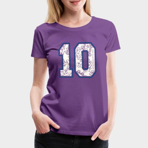 10.png - Frauen Premium T-Shirt