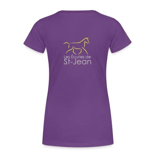 Ecuries de St Jean - T-shirt Premium Femme