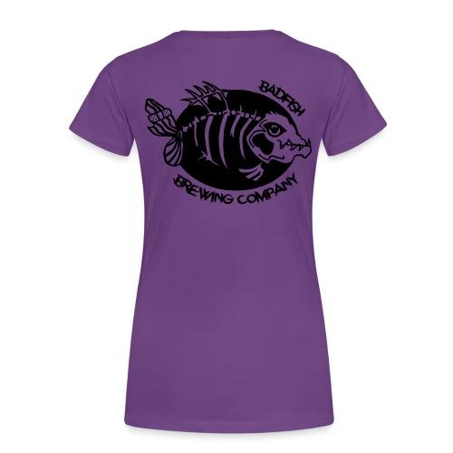 Grand logo dos - T-shirt Premium Femme