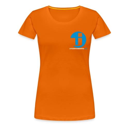 Logo Normal Brust - Frauen Premium T-Shirt
