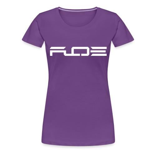 black no boarder orig - Frauen Premium T-Shirt