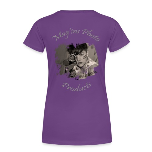Mag'ins Photo Products 1 - T-shirt Premium Femme