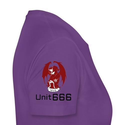 Unit 666 Front Print with text type 2. - Women's Premium T-Shirt