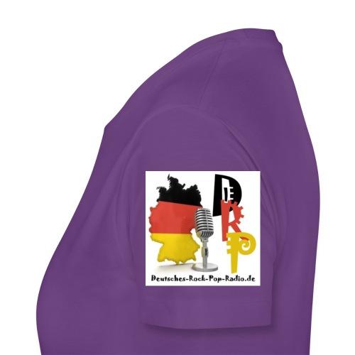 Deutsches-Rock-Pop-Radio_ - Frauen Premium T-Shirt