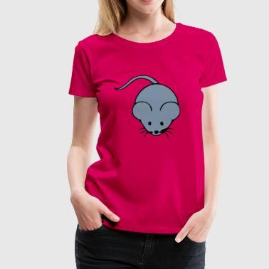 maus - Frauen Premium T-Shirt