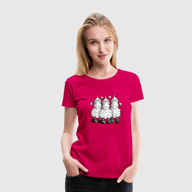 Schaap - Schapen - Schaapje - Vrouwen Premium T-shirt