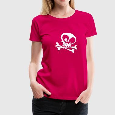 bone - Premium-T-shirt dam