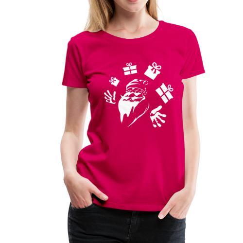 Weihnachtsmann ✫ Santa Claus ✫ Santa ✫ T-Shirt - Frauen Premium T-Shirt