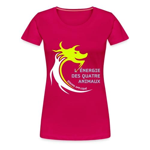 Long Ping Französisch - Frauen Premium T-Shirt