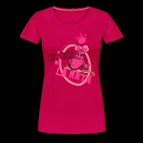El Rey de la Rata - Frauen Premium T-Shirt