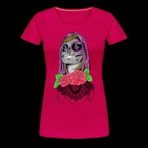 Day of the dead girl - Premium-T-shirt dam