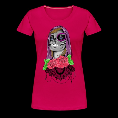 Day of the dead girl - Premium-T-shirt dam