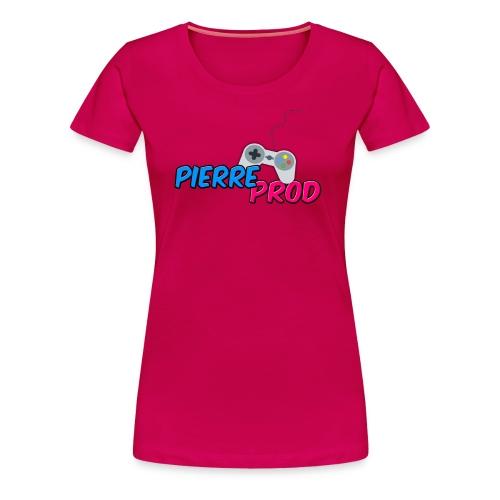LOGO PIERREPROD - T-shirt Premium Femme